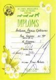 Diploms no izstādes