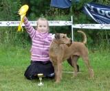 CHILD & DOG competition -3rd Place